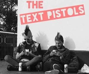 punk and sex pistols image