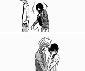 black&white, manga, and kaichou wa maid sama image