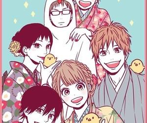 orange, anime, and friendship image