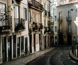 architecture, lisbon, and vintage image