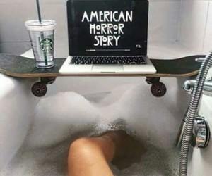 starbucks, ahs, and american horror story image