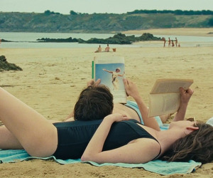 one day, movie, and beach image