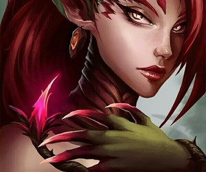 league of legends and zyra image