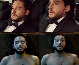 golden globes, jon snow, and kit harington image
