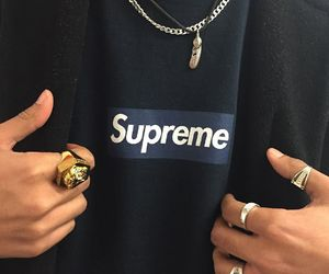supreme, fashion, and style image