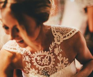 smile, dress, and happy image