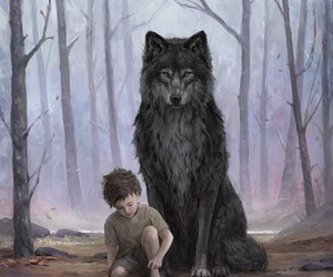 wolf, got, and game of thrones image
