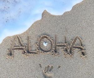 Aloha, beach, and vibes image