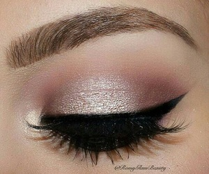 eyeshadow, makeup, and tumblr image