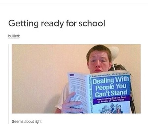 funny, internet, and school image