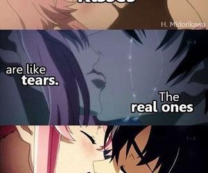 anime, kiss, and cry image