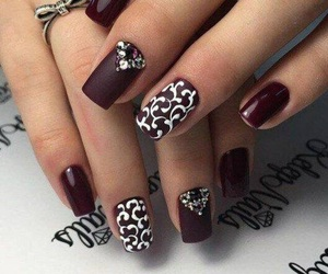 nails, nail art, and nailart image