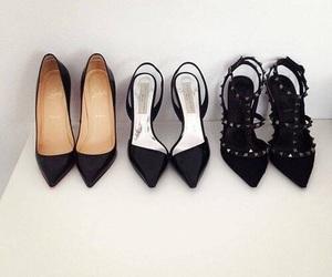 black, elegance, and fashion image