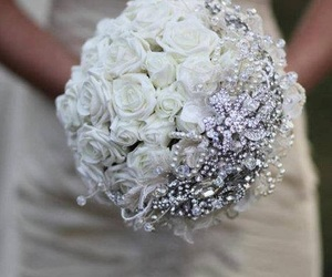 bouquet, bow, and bunch image