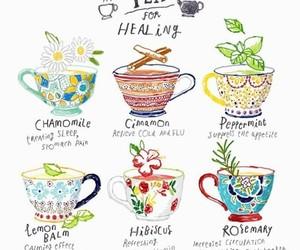 tea and healing image