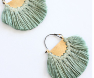 boho, earrings, and tassels image