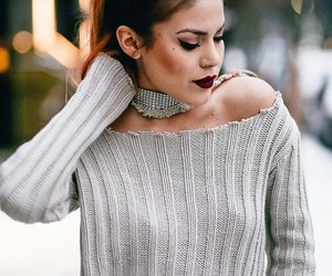 girl, hair, and luanna perez image