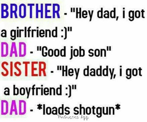 funny, dad, and boyfriend image