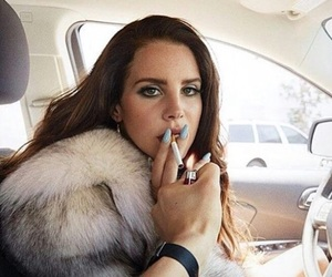 lana del rey, cigarette, and lana image