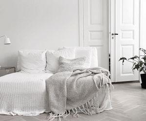 bedroom, interior, and minimalist image