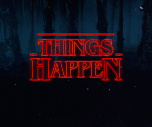 aesthetic, stranger things, and background image