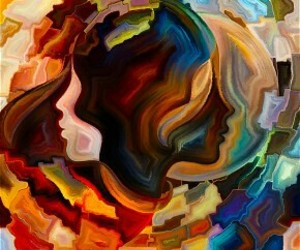 creative, mental illness, and painting image