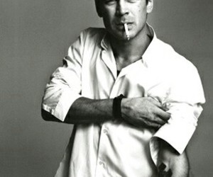 colin farrell, black and white, and Hot image