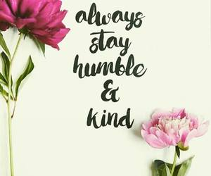 quotes, flowers, and kind image