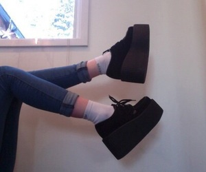 creepers, shoes, and grunge image