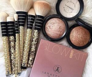 makeup, Brushes, and mac image