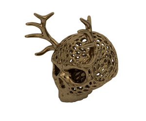 fashion, pendant, and skull image
