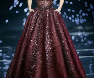 dress, style, and Zuhair Murad image