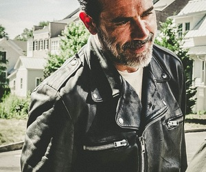 the walking dead, jeffrey dean morgan, and negan image