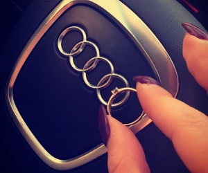 audi, rings, and love image