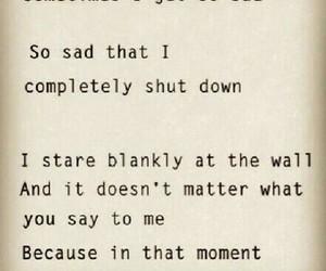 sad, depression, and sadness image