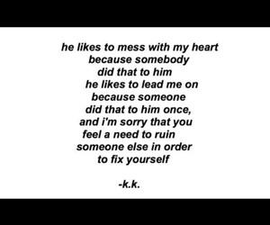 broken, deep, and he image
