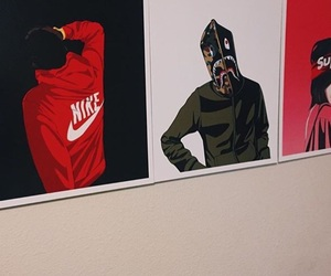 nike, theme, and supreme image