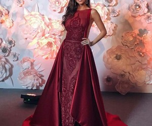 amazing, Prom, and red image