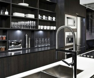 glass, home, and kitchen image