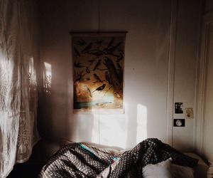 room, vintage, and bedroom image