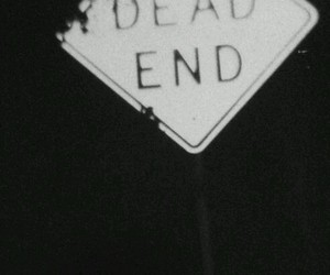 grunge, dark, and dead end image