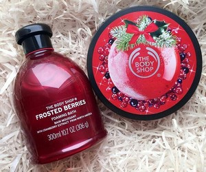 the body shop, beauty, and christmas image