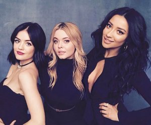 shay mitchell, pretty little liars, and lucy hale image