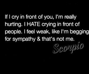 quotes, scorpio, and zodiac image