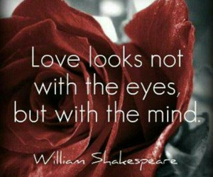 shakespeare, beautiful quotes, and love image