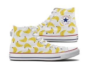 bananas, fashion, and converse image