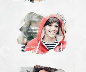 fondos, louis tomlinson, and 1d image