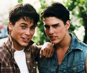 the outsiders, Tom Cruise, and rob lowe image
