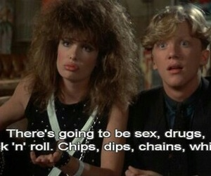 80s, funny, and weird science image