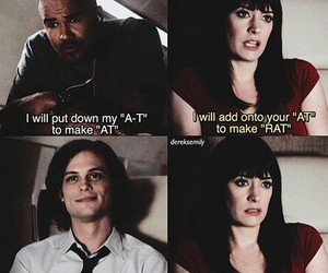 criminal minds, prentiss, and morgan image
